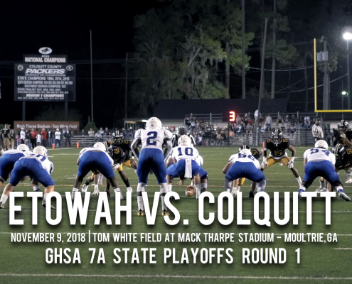 Etowah vs. Colquitt High School Football Highlights
