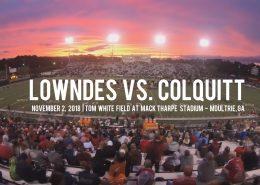 lowndes vs. colquitt high school football football highlights