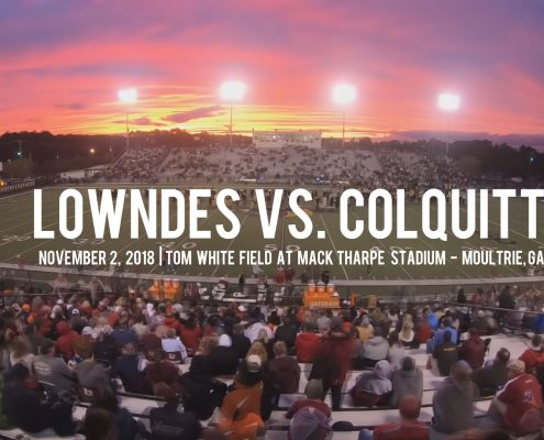 lowndes vs. colquitt high school football football highlights