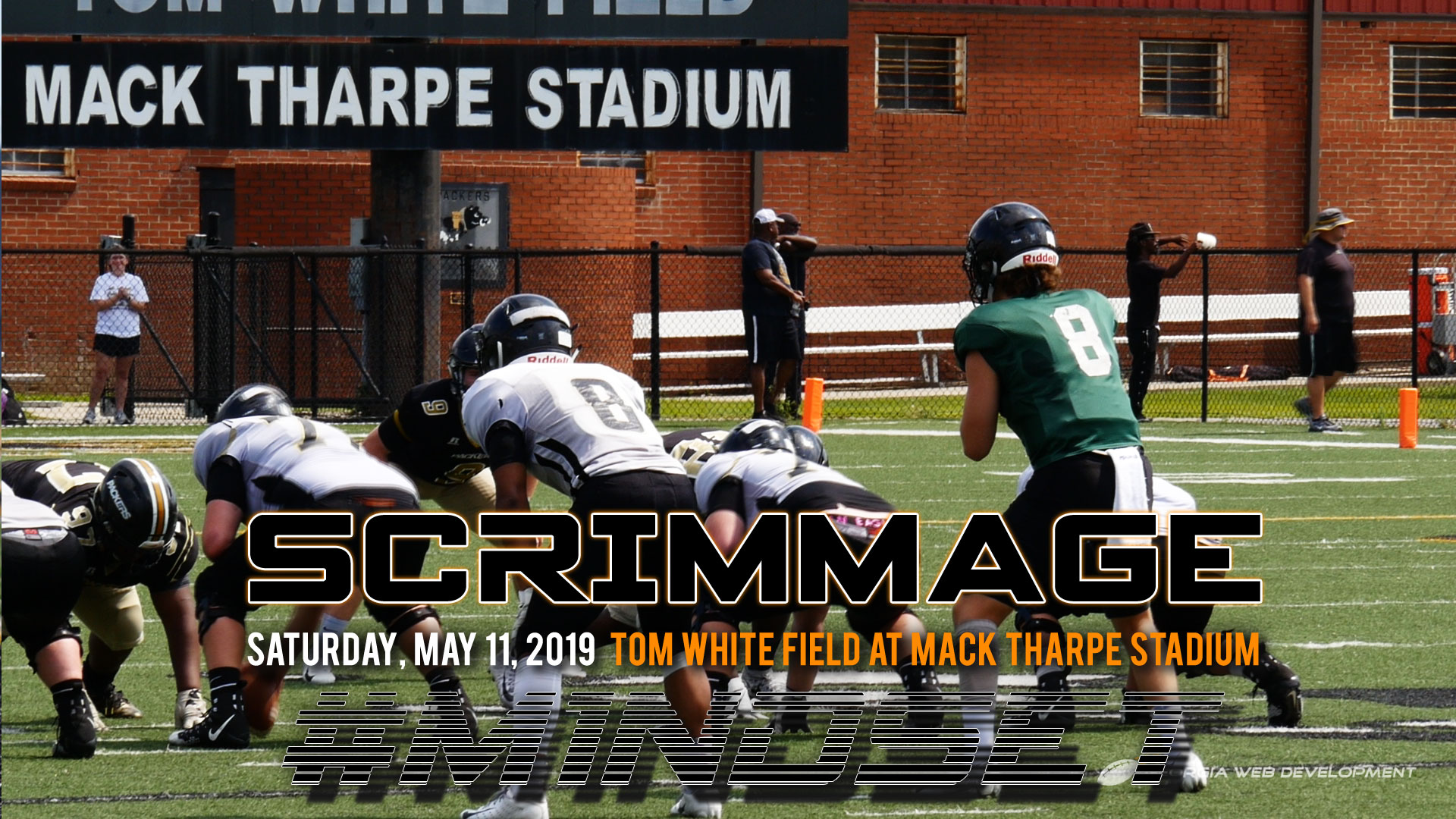 2019 Colquitt County Packer Football Inter-Squad Scrimmage