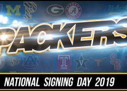 Colquitt County Packer Football 2019 National Signing Day