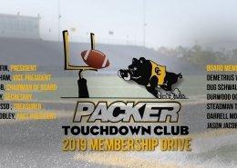 packer touchdown club 2019 membership drive