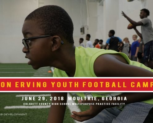 Cameron Erving Youth Football Camp