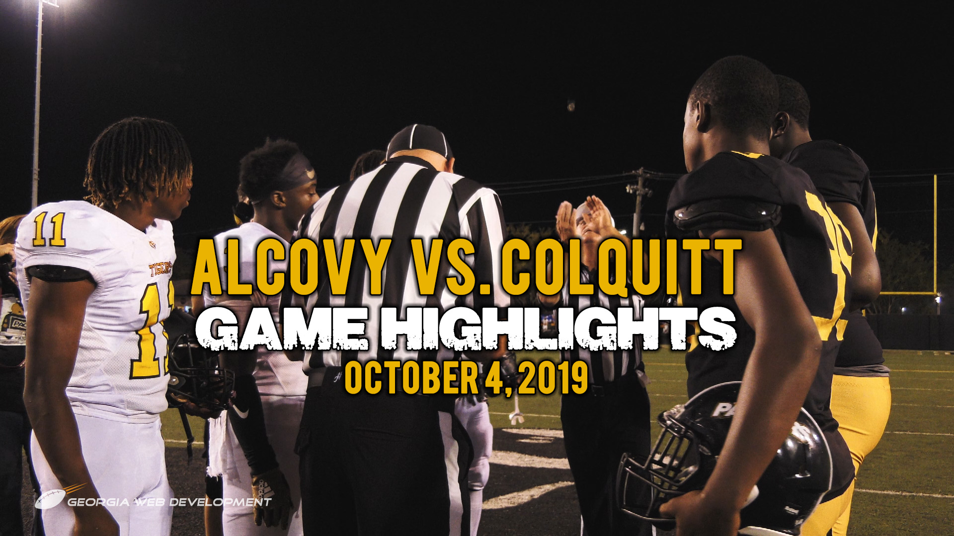 Alcovy vs. Colquitt 2019 | High School Football Game Highlights