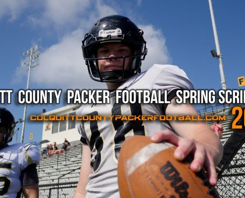 Colquitt County Packer Football 2018 Intrasqaud Scrimmage 1