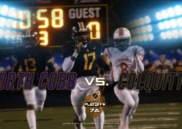 North Cobb Wariors vs. Colquitt County Packers 2019 7A State Playoffs Highlights