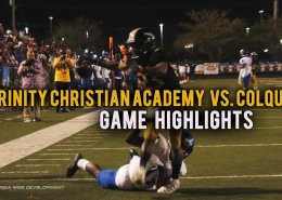 Trinity Christian vs. Colquitt High school Football Highlights