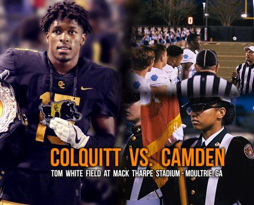 Colquitt vs. Camden High School Football Highlights