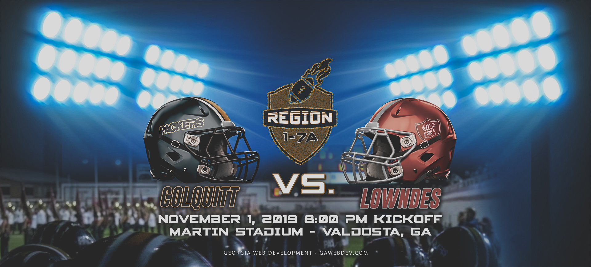 Colquitt vs. Lowndes 2019 High School Football